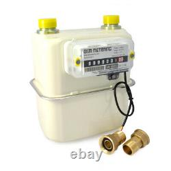 0.75 Pipe Gas Meter Manage Utility Bills Natural Gas Boiler or Space Heater #40