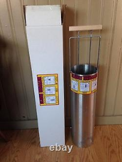 10 Inch Slush Inhaler Removes Ice after Auger Hole with Gas or Hand Auger NIB