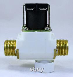1/2 inch 110V-120V AC Solenoid Valve with Check Valve Filter ONE-YEAR WARRANTY
