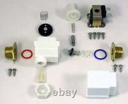1/2 inch 12V DC VDC Solenoid Valve with Check Valve Filter ONE-YEAR WARRANTY