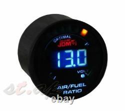 2 Inch 52mm Air Fuel Ratio EGT Exhaust Gas Temperature Turbo Boost Gauge Set