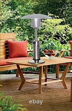 38-Inch Portable Table Top Stainless Steel Patio Heater Bestseller