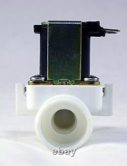 3/4 inch NPS Thread 110V-120V AC GRAVITY-FEED Plastic Nylon Solenoid Valve