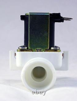 3/4 inch NPS Thread 110V-120V AC Plastic Nylon Solenoid Valve ONE-YEAR WARRANTY