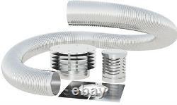 5M 125mm 5 inch GAS / OIL flue chimney liner kit single skin 316 stainless