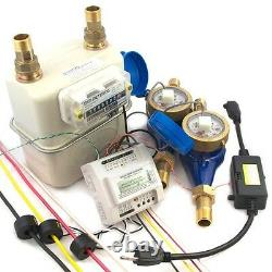 75 Diaphragm Gas Meter for Landlords Lease to Tenants Submeter #40