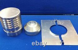 9M 125mm 5 inch GAS / OIL flue chimney liner kit single skin 316 stainless