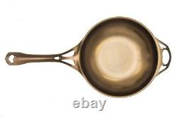 AUS-ION by Solidteknics Wrought Iron Skillet in Bronze 12 Inches