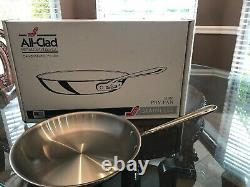 All-Clad 12 Inch Fry Pan Stainless Steel Skillet NEW
