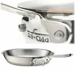 All-Clad 6112 SS Copper Core 5-Ply Bonded 12 inch Fry Pan Brand New