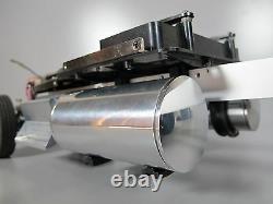 Aluminum Pair 4 inch Fuel Gas Tank + Mount Tamiya 1/14 King Grand Knight Hauler