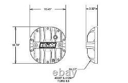 B&M Hi-Tek Aluminum Differential Cover For Ford 8.8 Inch F-150 Mustang Ranger