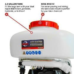 Backpack Fogger Sprayer Leaf Blower 3.7 Gallon Gas Pest Control Disinfectants