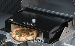 Bakerstone Pizza Oven Stone Pizza Oven Box for Charcoal & Gas BBQ 12 & 14