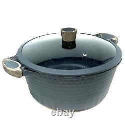 Big Size Pot/Casserole 12.5 Inch, 10 Qt + Lid Party/Restaurant Size D&W Cookware