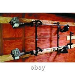 Buyers Products Trimmer Rack for Enclosed Landscape Trailer, Shed, and Truck