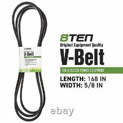 Deck Blade Belt Spindle Kit for Set Combo 60 Inch Bad Boy CZT ZT Pup 037-6015-50