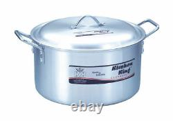 High Quality Saucepan Competent Casserole Stock Pots Large Pans Kitchen King