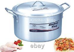 Kitchen King Casserole Cooking Saucepan Stockpot Stew Pot