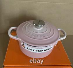Le Creuset Shell Pink Cast Iron Baby Cocotte 5.5inches (14 cm/1QT) rare