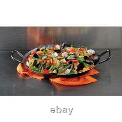 Lodge 15 Inch Carbon Steel Skillet, CRS15, with double loop handles