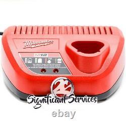 Milwaukee 2558-20 M12 Cordless Brushless 1/2 Compact Ratchet 3.0 Ah Battery Kit
