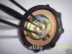 New Kelch 1/4 Turn Bayonet Gas Cap With Guage 10 Inch