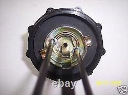New Kelch 1/4 Turn Vented Gas Cap With Gauge 12.5 Inch