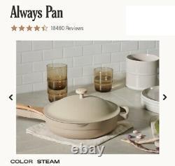 Our Place Always Pan Steam 10 inch Diameter 2.7 inch Depth 2.6 Quart