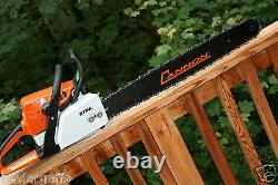 PILTZ Conversion Stihl MS250 CHAINSAW HOT SAW Full Chisel 3/8 Chain 28 inch