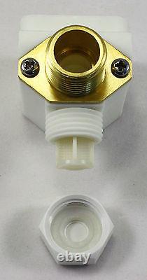 1/2 Pouce 110v-120v Ac Solenoid Valve Avec Filtre Valve De Contrôle Garantie D'un An