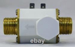 1/2 Pouce 12v DC VDC Solenoid Valve Avec Filtre De Soupape De Contrôle Garantie D'un An