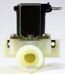 1/2 Pouce Nps Fil 110v-120v Ac En Plastique Nylon Valve Solénoïde Garantie Un-year