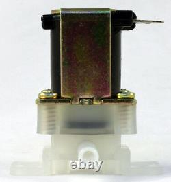 1/4 Pouce Instant Fit 110v-120v Ac En Plastique Nylon Valve Solénoïde Garantie Un-year