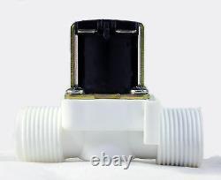 3/4 Pouces Nps Filetage 110v-120v Ac Gravity-feed En Plastique Nylon Vanne Solénoïde