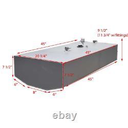 Carburant De Bateau De Floride / Réservoir De Gaz Fmt-28-rkb 28 Gallon 45 Pouces Aluminium