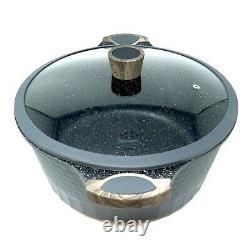 Grande Taille Pot/casserole 12.5 Pouces, 10 Qt + Couvercle Party/restaurant Taille Cuisinière D&w