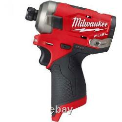Milwaukee 2551-20 M12 Fuel Surge 1/4 Pouce Hex Hydraulic Driver Bare Tool