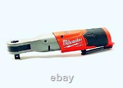Milwaukee 2558-20 12-volt 1/2-inch 60-ft-lbs. Outil De Barre À Cliquet Sans Fil