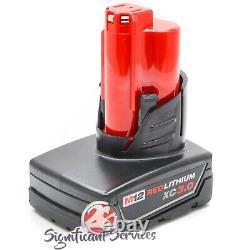 Milwaukee 2558-20 M12 Cordless Brushless 1/2 Compact Ratchet 3.0 Ah Batterie Kit
