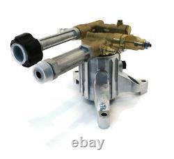 Nouveau 2800 Psi 2,5 Gpm Ar-rmw25g28-ez Power Pressure Washer Water Pump-brass Head