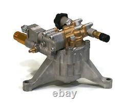 Nouveau 3100 Psi 2,5 Gpm Power Pression Washer Water Pump 7/8 Shaft Brass Head