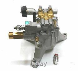 Nouveau 3100 Psi 2,5 Gpm Power Pressure Washer Water Pump Kit 7/8 Tête En Laiton D'arbre