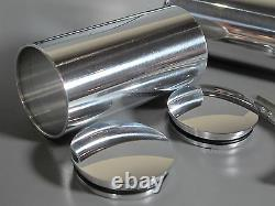 Paire D'aluminium Réservoir De Carburant De 4 Pouces + Mont Tamiya 1/14 Roi Grand Chevalier Hauler