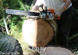 Piltz Conversion Stihl Ms250 Tronçonneuse Hot Saw Ciseau Complet 3/8 Chaîne 28 Pouces