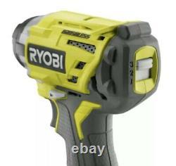 Ryobi P238 One+ 18v Brushless 3-speed 1/4 Po. Hex Impact Driver Seeled Box