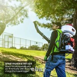 Sac À Dos Fogger Sprayer Leaf Blower 3.7 Gallon Gas Pest Control Désinfectants