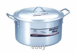 Saucepan De Haute Qualité Compétent Casserole Stock Pots Grandes Casseroles Cuisine Roi