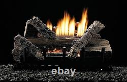 White Mountain Hearth 18 Pouces Whiskey River Gas Log Set Vent Free With Remote